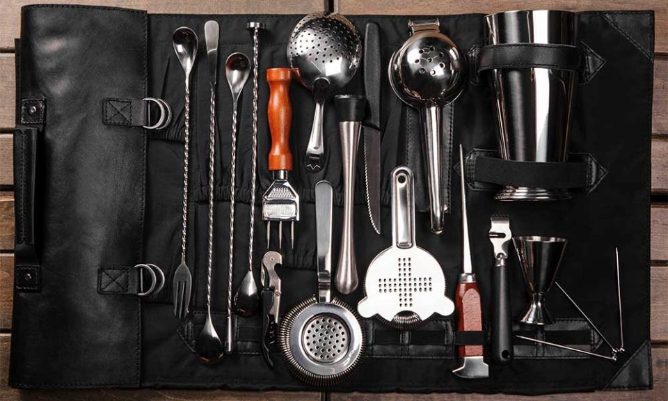A bunch of items that are sitting on a counter